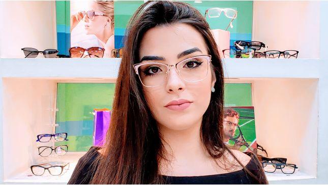 Óculos Camila Vinho - santograu