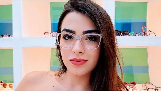 Óculos Becca Nude - santograu