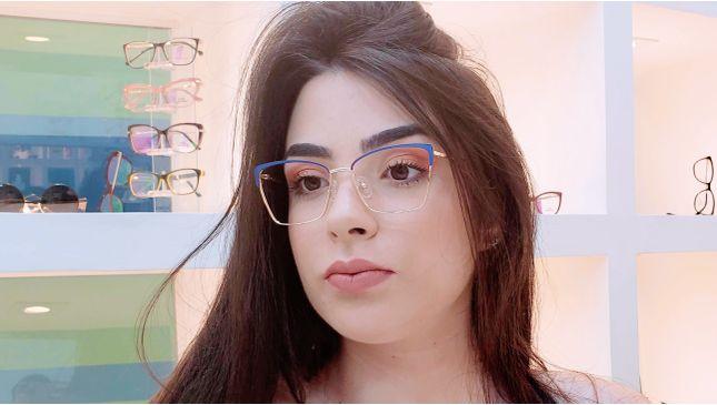 Óculos Maitê Nude - santograu
