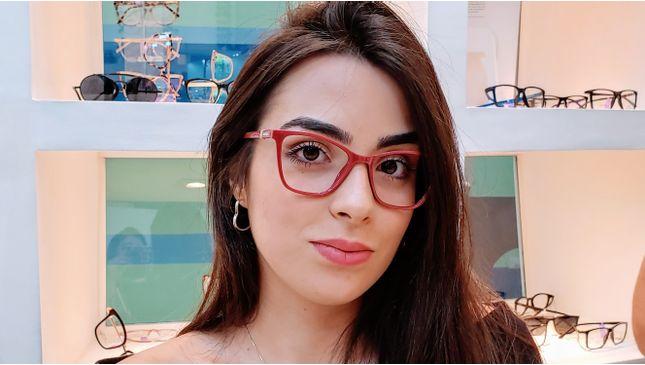 Armação Óculos Grau Feminino Diamante   Shopee Brasil
