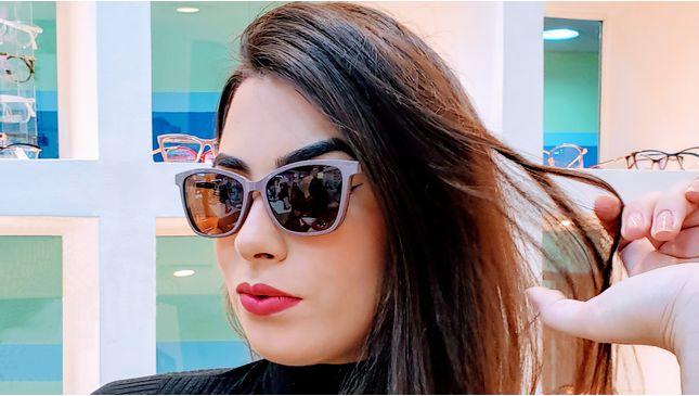 Óculos Clipon Clara Nude - santograu