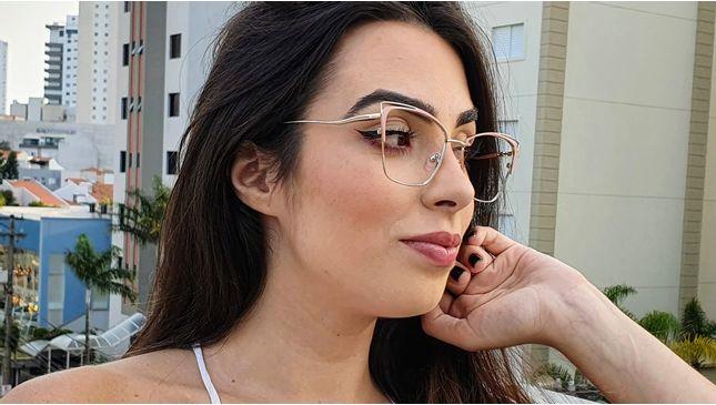 Óculos Alexia Nude - santograu