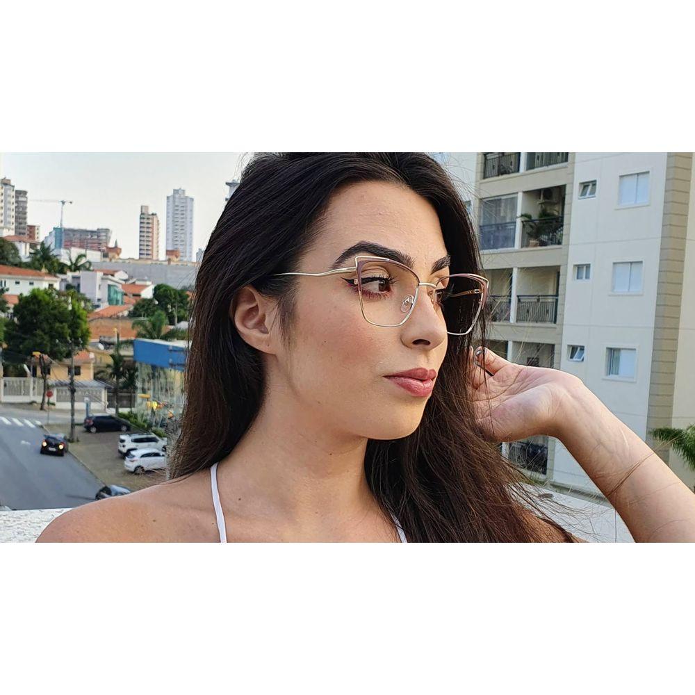 Óculos Camila Marrom - santograu