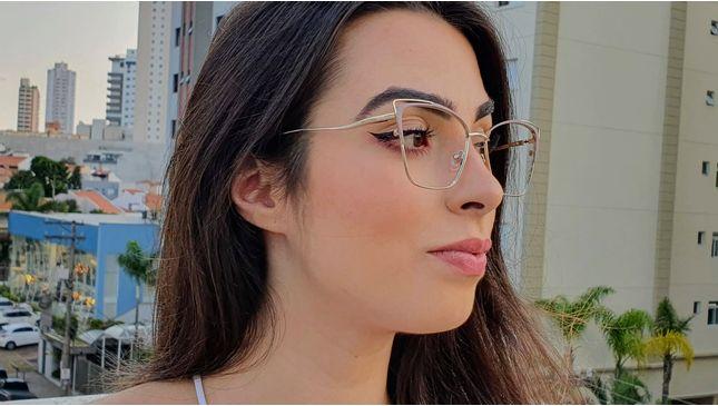 Óculos Camila Nude - santograu