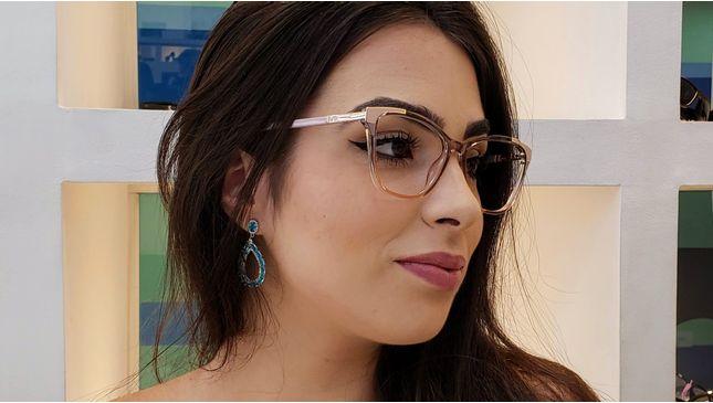 Óculos Jade 2 Nude - santograu